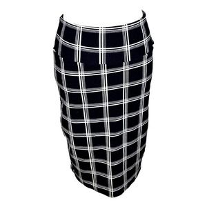 LULAROE Cassie Window Pane Plaid Pencil Skirt S